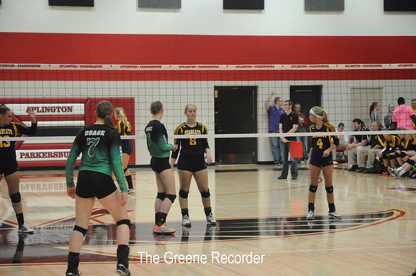 Volleyball vs. A-P and Osage