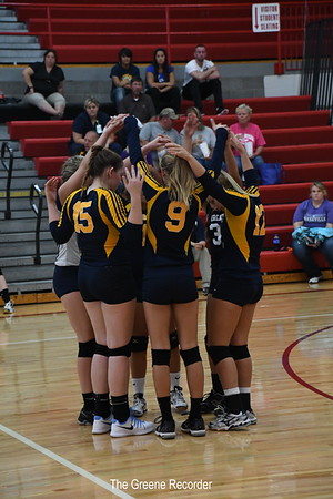 JV Volleyball at Newman