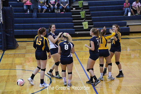 JV Volleyball vs West Fork