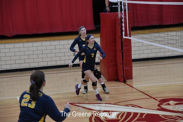 Volleyball at Newman Catholic