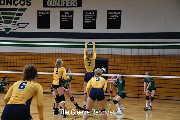 Volleyball at B-K Tournament