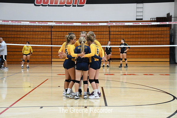 Volleyball at Clarion-Goldfield Tournament