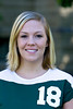 """#18 Lori Ahern<br /> 5'4"""" Freshman<br /> Defensive Specialist<br /> Broadview, MT – Broadview HS<br /> Biology/Chemistry<br /> Paul and Mary Ahern"""