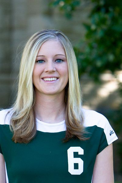"""#6 Jessica Eliasson<br /> 6'1"""" Senior <br /> Opposite Hitter<br /> Roundup, MT – Roundup HS<br /> Business Management<br /> Gary and Phyllis Eliasson"""