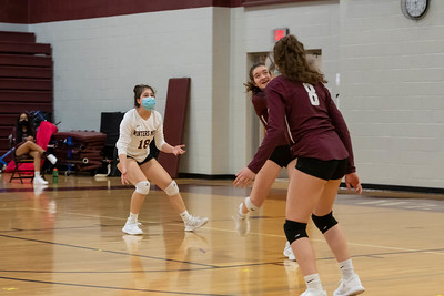Volleyball Senior Night Spring 2021-2