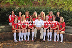 DAVIDSON, NC - Davidson women's soccer and volleyball team & head shots.