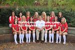 DAVIDSON, NC - Davidson women's soccer and volleyball team & head shots.