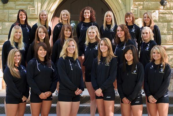 Volleyball, Team Photos '09