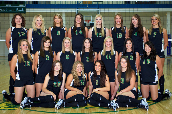 Volleyball, Team Photos '10