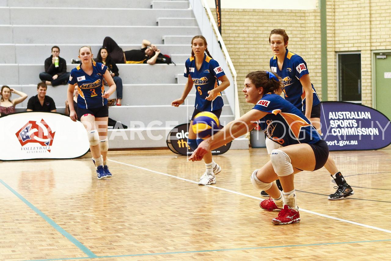 WAVL Finals 2011 Elimination Final UTSSU v Canberra Heat