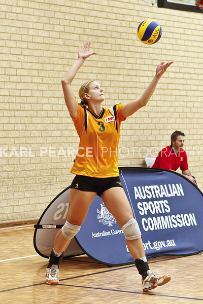 WAVL Finals 2011 Preliminary Final 2 WA Pearls vs UTSSU