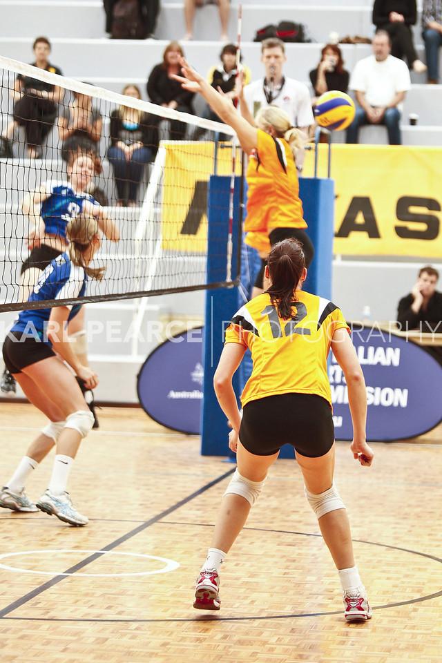 WAVL Finals 2011 Preliminary Final 2 WA Pearls vs UTSSU