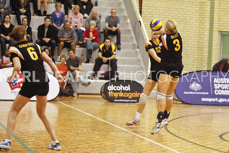 WAVL Finals 2011 Semi Final 1 WA Pearls vs University Blues