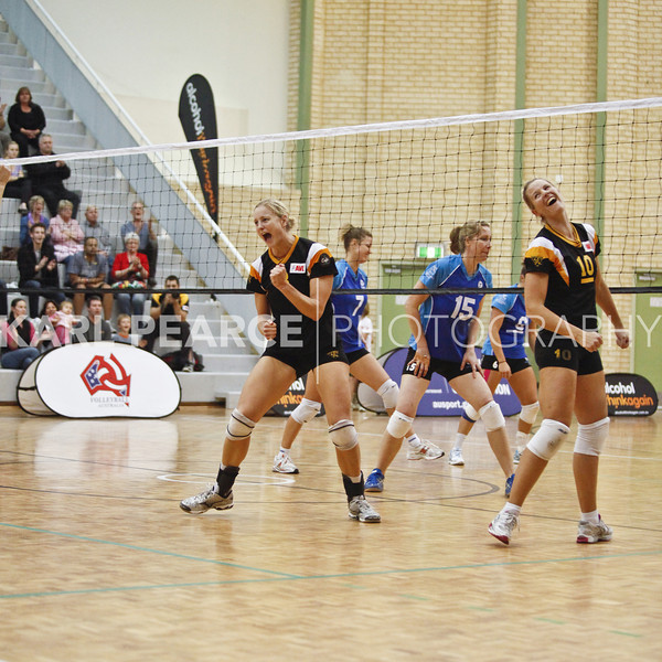 WAVL Finals 2011 Semi Final 1 WA Pearls vs University Blues