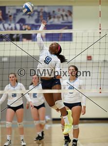 W-L @ Yorktown Volleyball (17 Sep 2018)