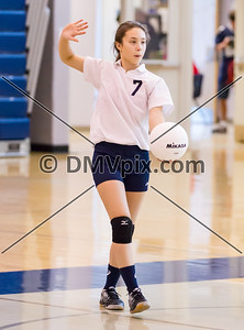 Wakefield @ W-L Freshman Volleyball (16 Oct 2014)