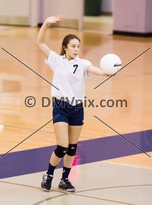 Wakefield @ W-L Freshman Volleyball (16 Oct 2014)