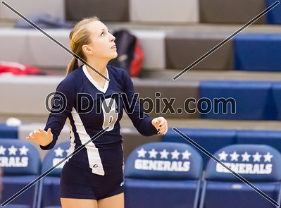 Wakefield @ W-L Varsity Volleyball (16 Oct 2014)
