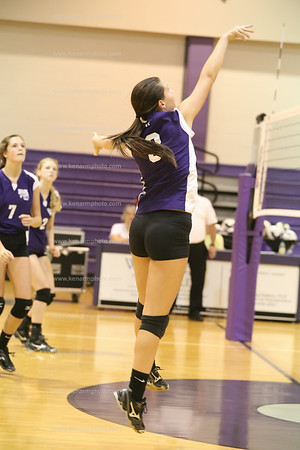 West Bladen 14 Union volleyball