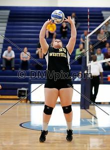Westfield @ Yorktown Freshman Volleyball (01 Oct 2015)
