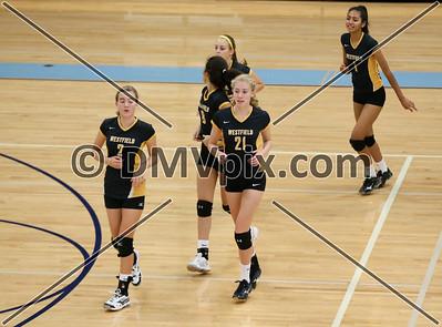Westfield @ Yorktown JV Volleyball (01 Oct 2015)