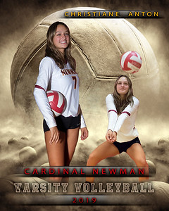 Dream Team Volleyball Individual Template