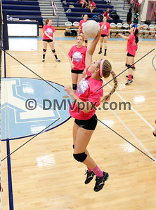 Yorktown Freshman Volleyball (06 Oct 2015)