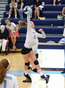 Chantilly @ Yorktown JV Volleyball (25 Aug 2016)