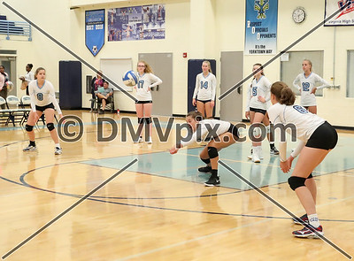 Yorktown JV Volleyball (26 Aug 2019)