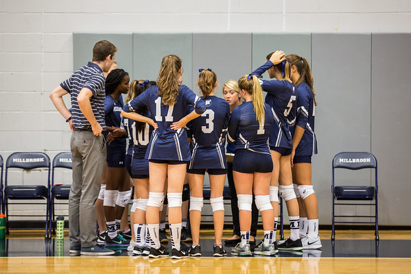 Volleyball vs Rumsey Hall
