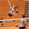 #8 for D-B soars up to hit shot during match against Science Hill. Photo by ned Jilton II