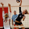 #2 for Sullivan Central kills one over Daniel Boone's #7. Photo by Ned Jilton II