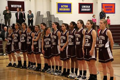 W.A. V GIRLS  BB @ WESTON  12-19-11