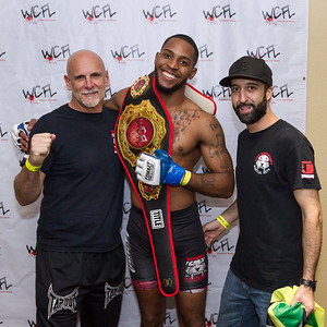 WCFL 170 Title Champion Gregg Ellis