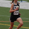 Brooke Selby runs in the 1600m finals at the Region 1-4A track meet