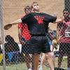 Wright of WFHS threw the discus 127-05 at the Region 1-4A track meet.