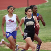 Ellett of Rider ran in the 800m dash at the Region 1-4A track meet.  She posted a time of 2:26.91