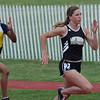 Taylor Stolt sprinted to a second place finish in her heat of the 100m dash.  Stolt's time of 12.27 was the third fastest time in the preliminary heats.  The placement advanced her to Tuesday's finals of the Region 1-4A meet.