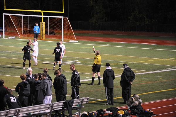 WHRHS Boys Senior night vs. Bridgewater