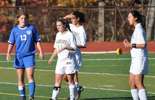 WHRHS Girls vs. Westfield 11-9-10 sectional semifinal win in PK