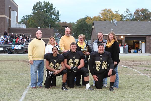 WHS Football Senior Night