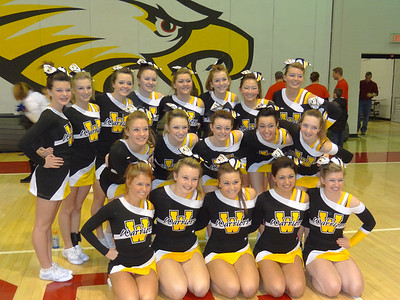 WMHS Regional Cheer Competition 2013