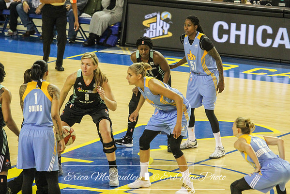 WNBA - Chicago Sky v NY Liberty