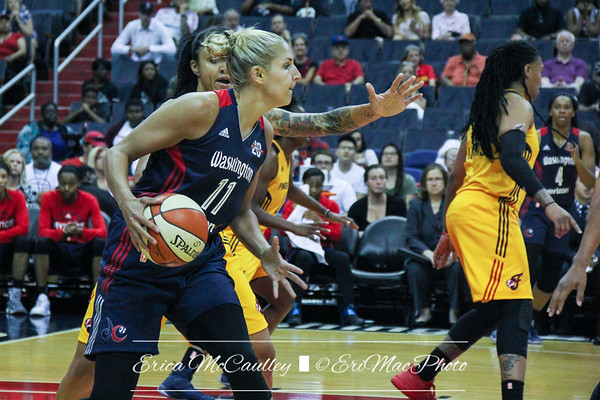 WNBA - Washington Mystics v Indiana Fever