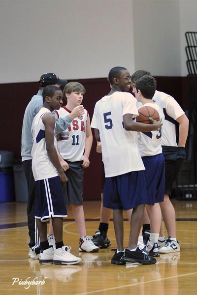 WNSL Basketball 8th grade