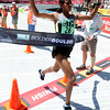 "Ethiopia's Mamitu Daska crosses the finish line of the Bolder Boulder in first place inside Folsom Field on the University of Colorado campus on Monday, May 28. For more photos of the race go to  <a href=""http://www.dailycamera.com"">http://www.dailycamera.com</a><br /> Jeremy Papasso/ Camera"