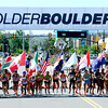 Women's International Team Challenge start during the 2012 Bolder Boulder in Boulder, Colorado May 28, 2012. CAMERA/MARK LEFFINGWELL