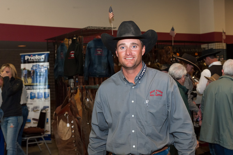 Shaie Williams for Working Ranch Magazine. Phy Lord from the Jolly Ranch and S & L Cattle winners of the WRCA 21st World Championship Ranch Rodeo  held at Amarillo Civic Center  in Amarillo, TX  on November 13, 2016.