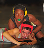Kareem Harris, W. Hempstead wins over Aaron Calerio, Freeport, 1st Round, 112 lb. Class.  Feb. 5th, 2010. Baldwin HS Sectional Qualifiers. Photo by Kathy Leistner