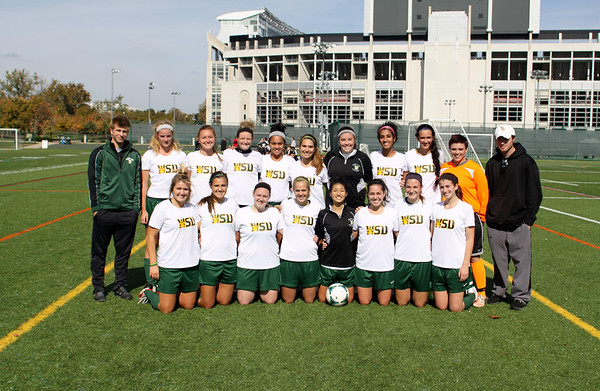 WRIGHT STATE  SOCCER 10-19-2014